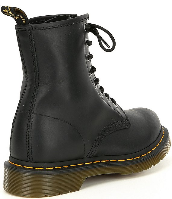 DR MARTENS 1460 WOMEN'S NAPPA LEATHER LACE UP BOOTS