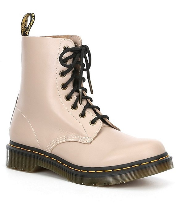 Dr. Martens Women's 1460 Pascal Wanama Soft Leather Combat Boots