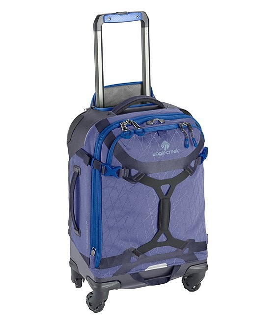 Color:Arctic Blue - Image 1 - Gear Warrior 4-Wheel Domestic Carry-On Spinner