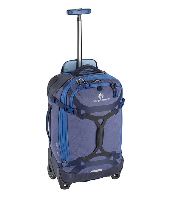 Color:Arctic Blue - Image 1 - Gear Warrior Wheeled Duffel International Carry-On