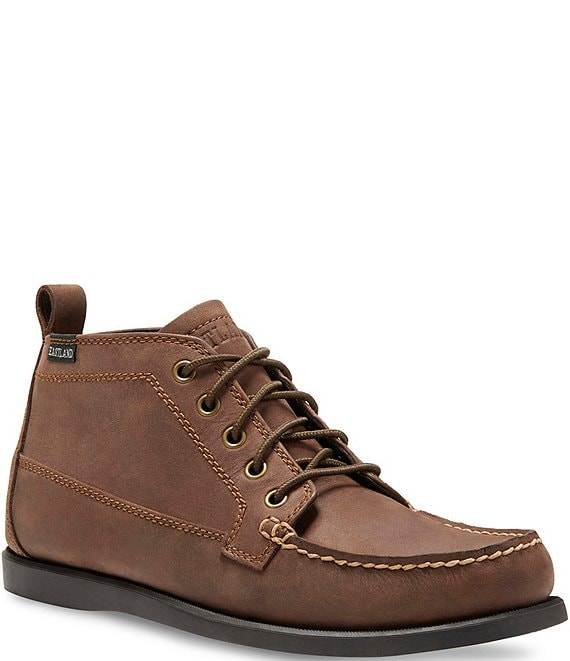 Color:Bomber Brown - Image 1 - Men's Seneca Bomber Leather Chukka Boot