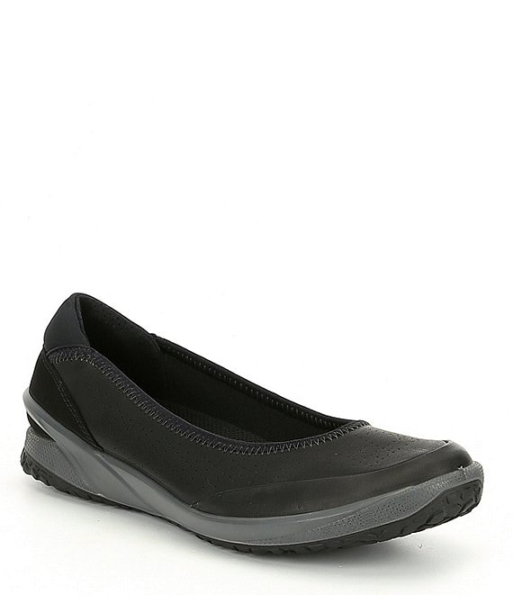 ECCO Biom Life Perforated Leather Slip Ons