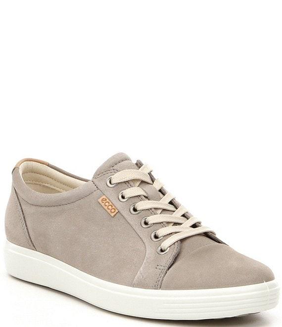 e312b81478 ECCO Soft 7 Nubuck Leather Sneakers | Dillard's