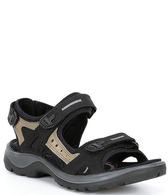 ae73a17de40a ECCO Yucatan Adjustable Strap Leather Sandals