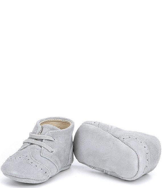 Edgehill Collection Baby Oxford Suede Crib Shoes (Infant)