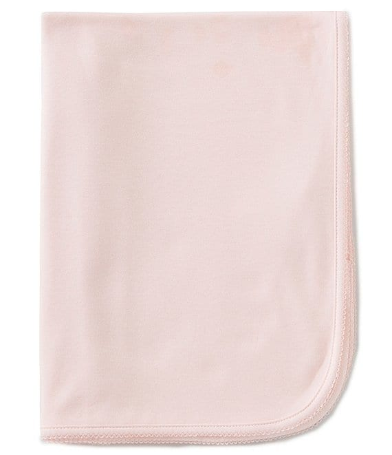 Color:Pink - Image 1 - Supima Cotton Baby Girls Supima Receiving Blanket
