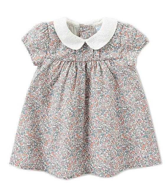 Edgehill Collection Baby Girls Newborn-24 Months Made With Liberty Fabrics Dress