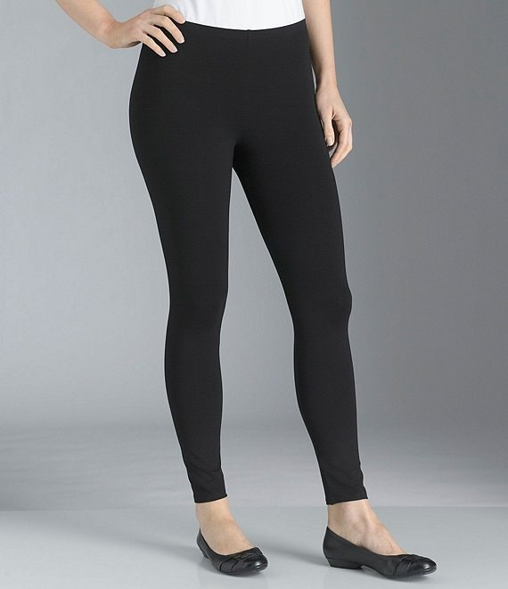 Eileen Fisher Petite Essentials Jersey Ankle Leggings