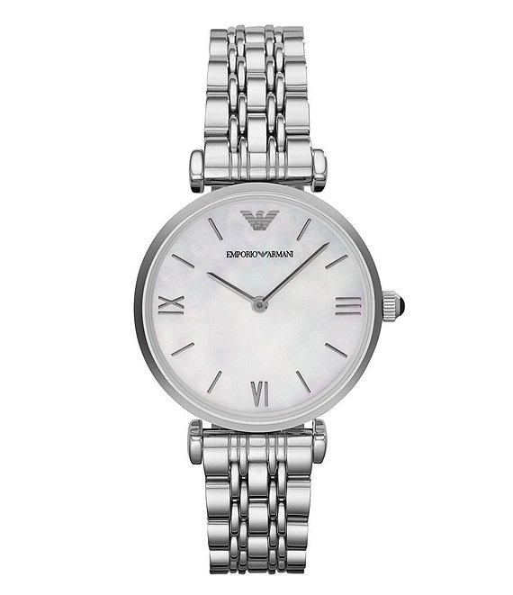 Color:Silver - Image 1 - Ladies Gia Classic Silver Bracelet Watch