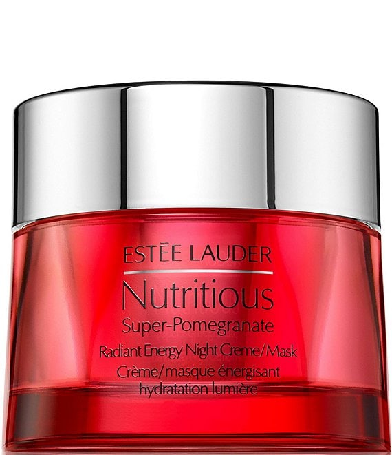 Estee Lauder Nutritious Super-Pomegranate Radiant Energy Night Face Creme/Mask