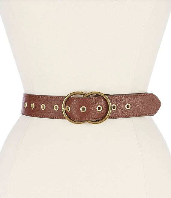 Fashion Focus Double-Circle Buckle Belt