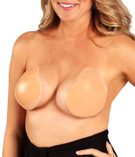 Color:Nude - Image 1 - Lift It Up Backless Strapless Plunge Bra