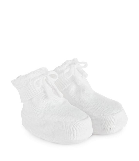 Feltman Brothers Newborn Knit Booties (Infant)