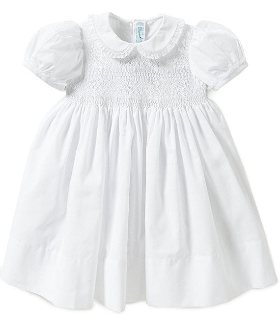 9c30e0a92 Feltman Brothers Baby Girls 12-24 Months Smocked Lace-Detailed Dress |  Dillard's