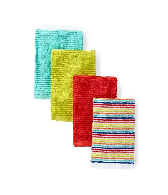Fiesta Bar Mop Kitchen Towels Set of 4