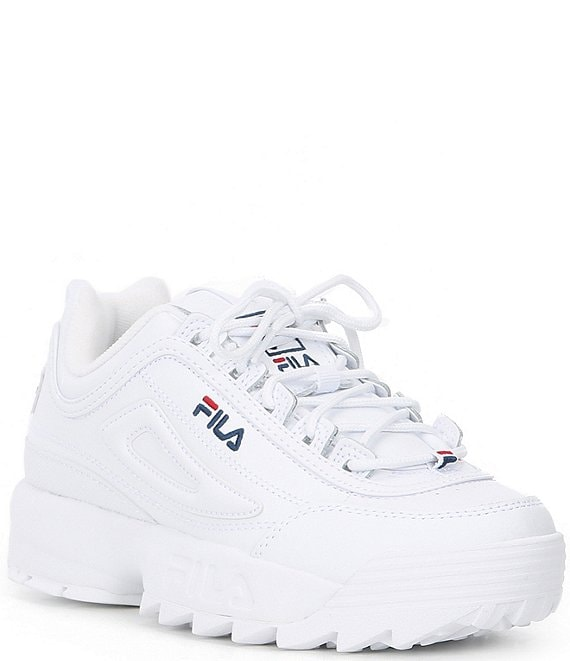 fila D Formation WOMENS WHITEFILA NAVYFILA RED bei