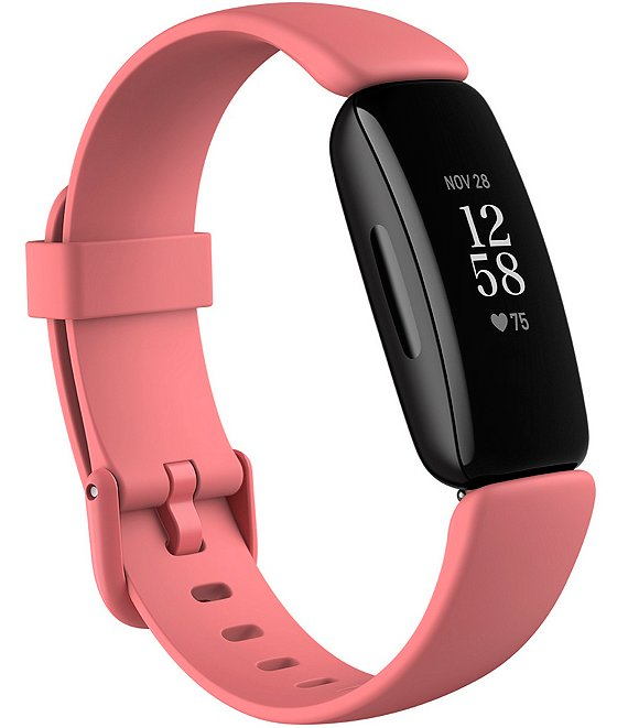 Color:Desert Rose - Image 1 - Inspire 2 Fitness Tracker with Heart Rate Monitor