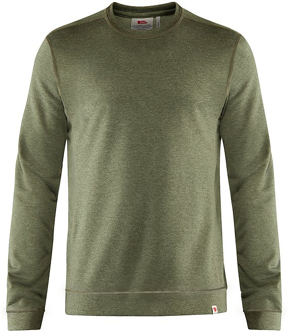 Color:Green - Image 1 - High Coast Lite Recycled Materials Sweater