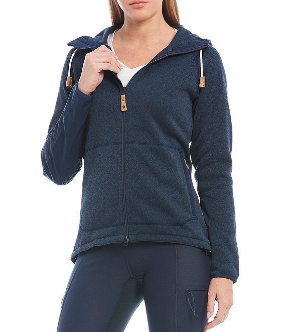 Color:Navy - Image 1 - Ovik Fleece Hoodie