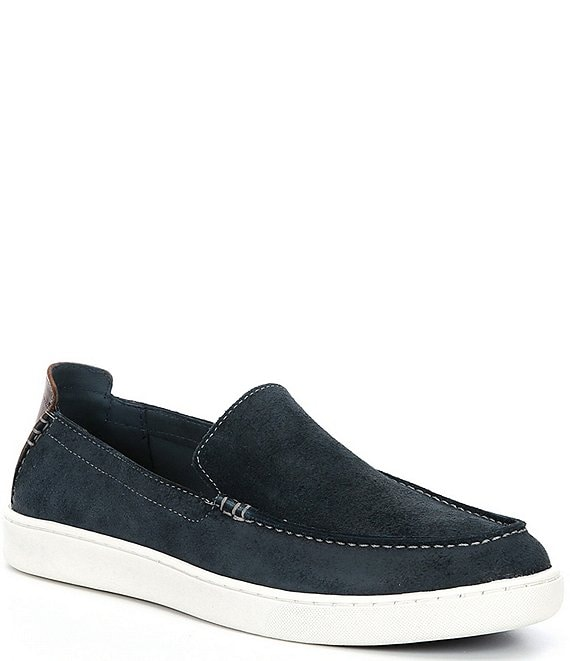 Color:Denim - Image 1 - Men's Boardwalk Slip-On Loafers