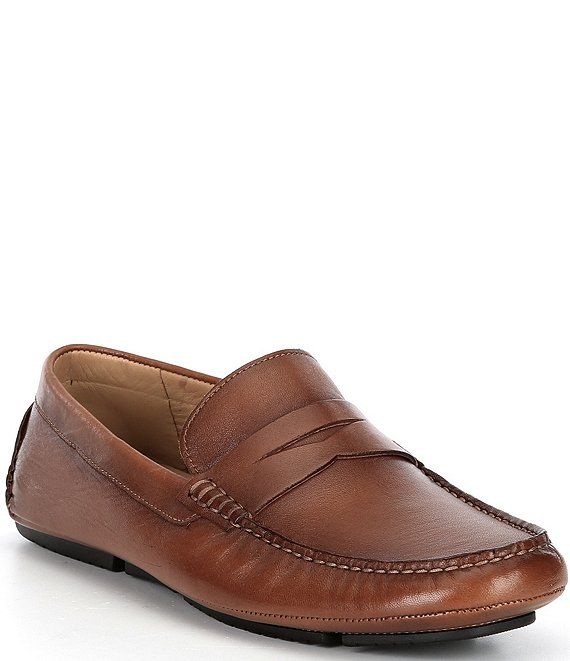 Color:Tan - Image 1 - Men's Morgan Penny Loafer Moccasins