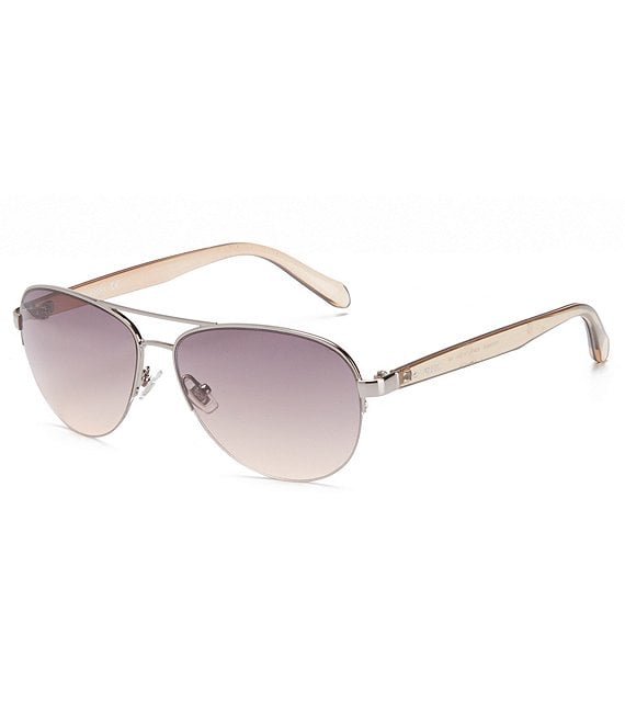 Color:Gunmetal - Image 1 - Aviator Sunglasses