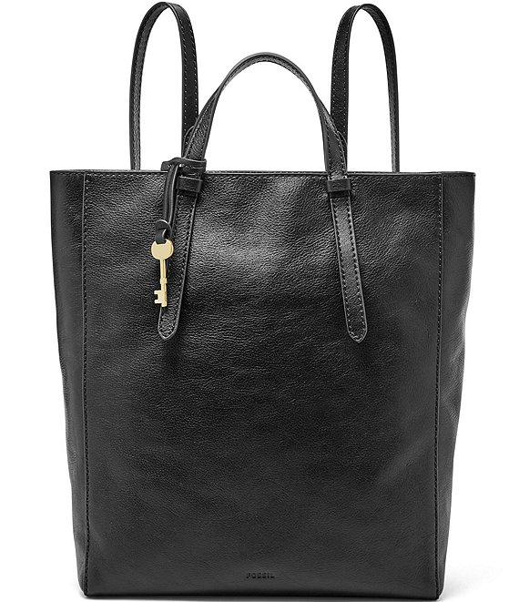 Color:Black - Image 1 - Camilla Convertible Tote Backpack