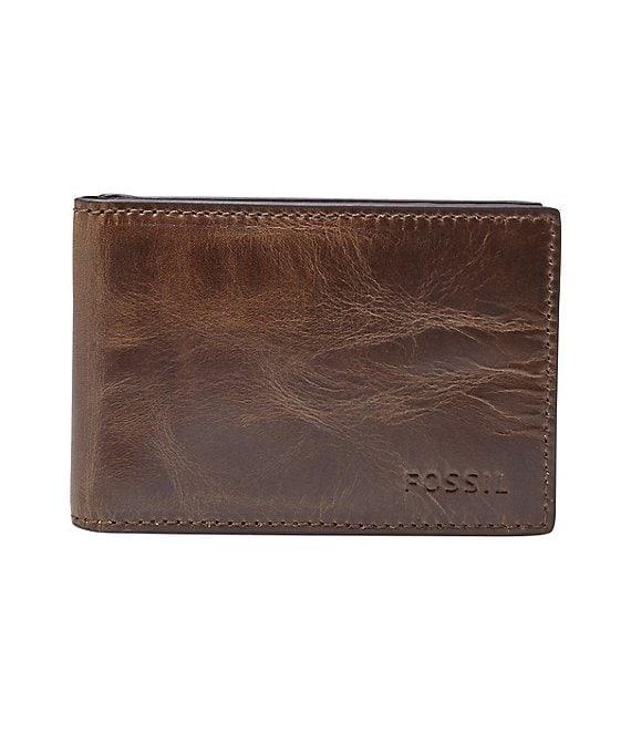 f6ff4e6c1cca Fossil Derrick Money Clip Bifold Wallet