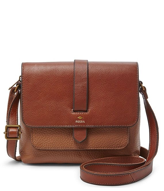 Color:Brown - Image 1 - Kinley Small Crossbody Bag