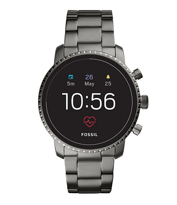 Fossil Q Gen 4 Explorist Hr Stainless Steel Smartwatch