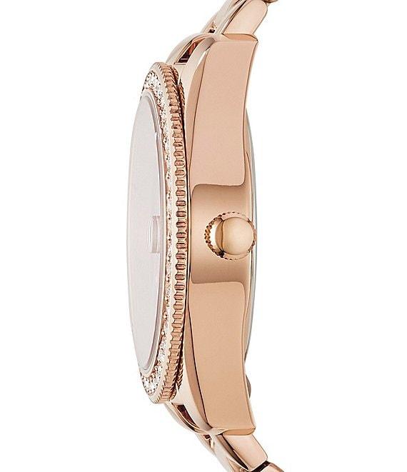 Fossil Scarlette Og Date Bracelet Watch
