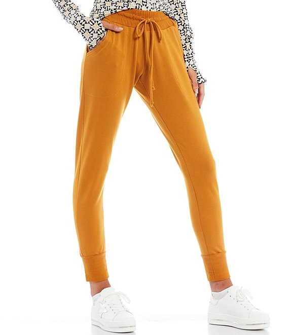 Color:Golden Ochre - Image 1 - FP Movement Sunny Skinny Sweat Pant