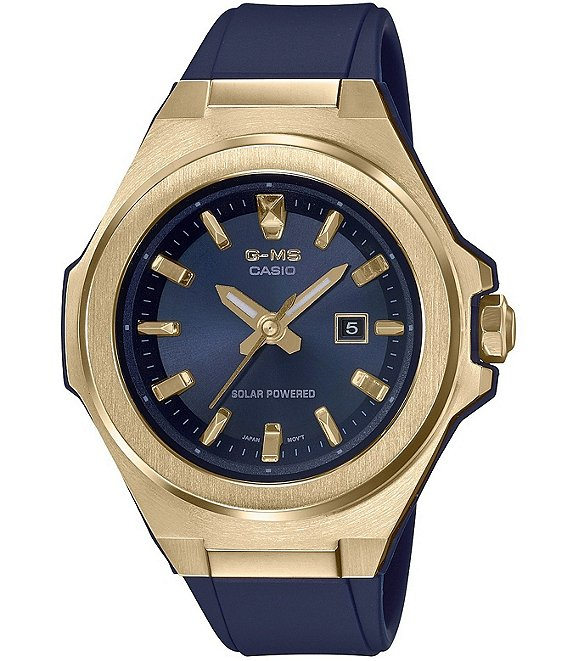 Color:Blue - Image 1 - BABY-G G-MS Blue Resin Shock Resistant Watch