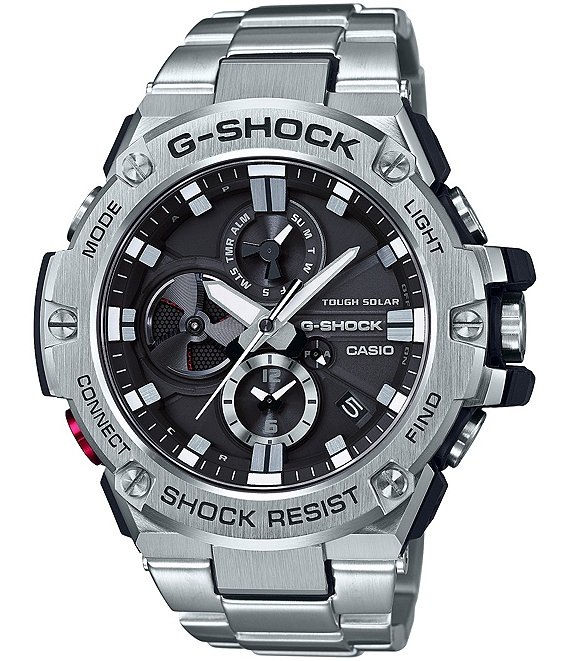 Color:Silver - Image 1 - G Steel Ana Digi Watch