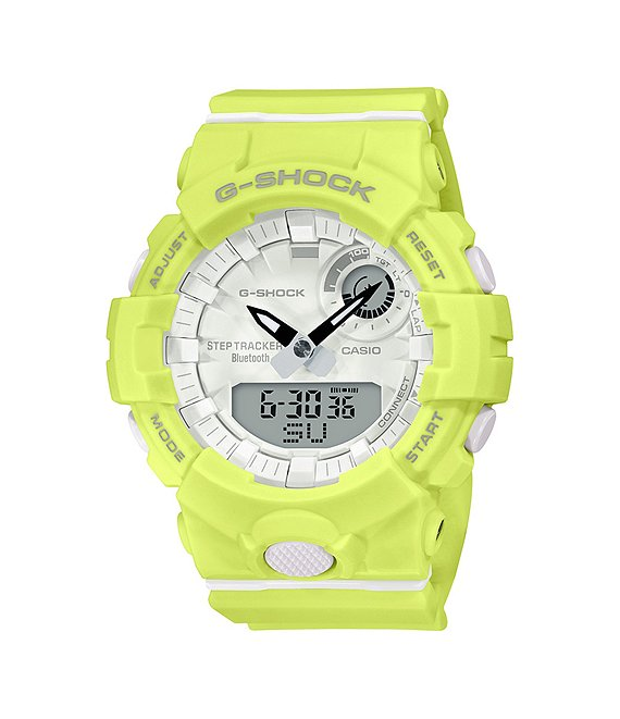 Color:Yellow - Image 1 - G-shock Neon Yellow Green Analog-Digital Shock Resistant Watch