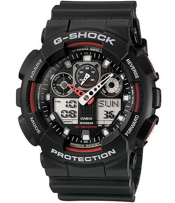 G-Shock XL Big Face Combi Resin Band Watch