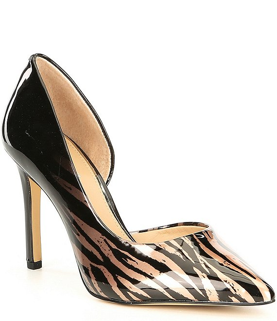 Gianni Bini Davenn Animal Print d'Orsay Pumps