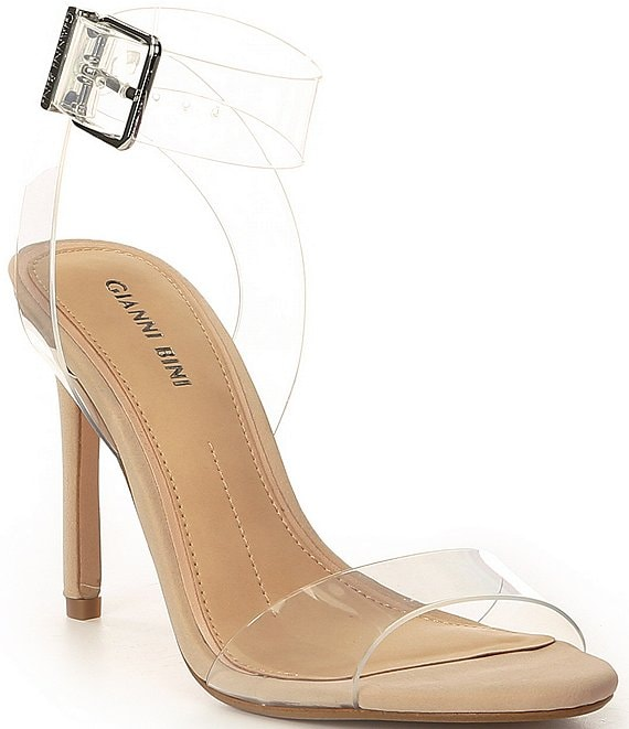 Color:Clear - Image 1 - Martiinne Clear Strappy Sandals