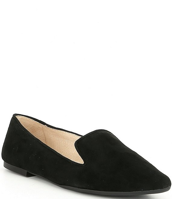 Gianni Bini Melbin Suede High Vamp Loafers