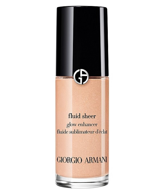 Color:02 Champagne Gold - Image 1 - ARMANI beauty Fluid Sheer Glow Enhancer Highlighter Makeup