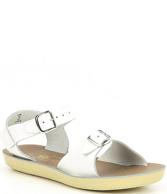 Salt Water Surfer Sandal White