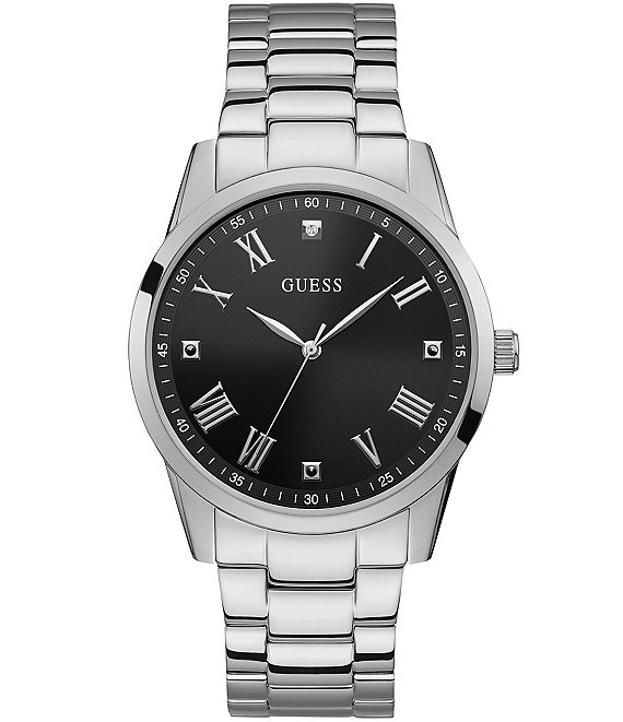 Guess Classic Dress Silver Watch
