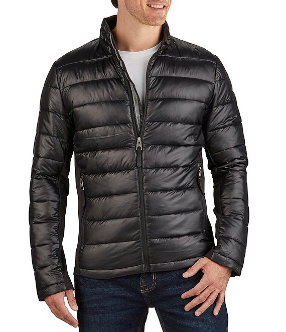 Color:Black - Image 1 - Lightweight Polyfill Packable Jacket