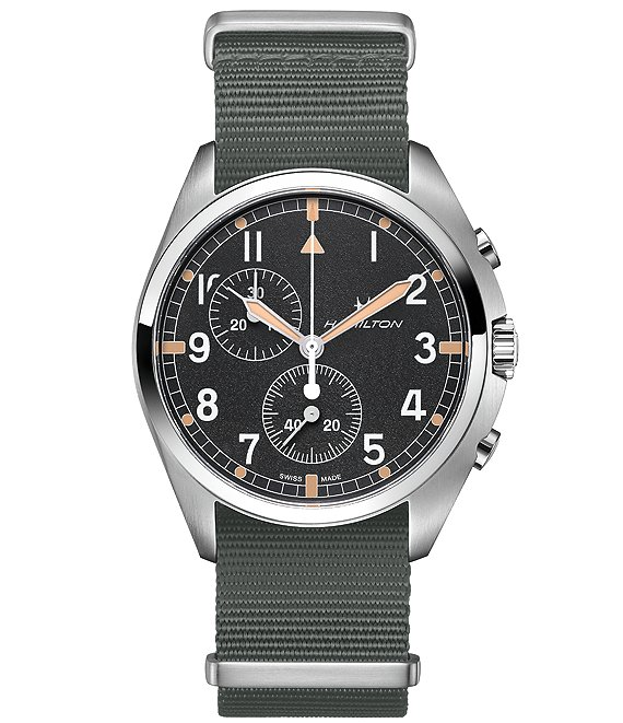 Hamilton Khaki Aviation Pilot Pioneer Chrono Quartz Watch