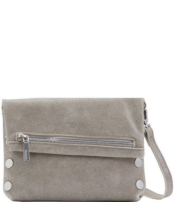 Color:Pewter/BS - Image 1 - VIP Small Leather Crossbody Bag