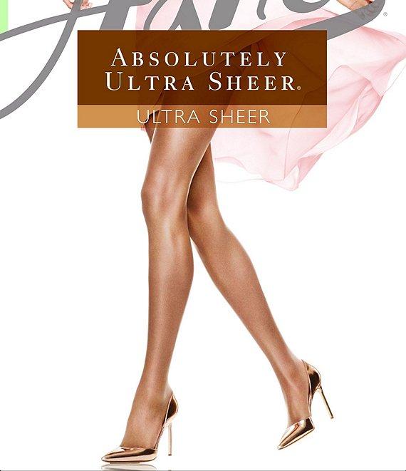fee7f1c0083f2 Hanes Absolutely Ultra Sheer Control Top Reinforced-Toe Pantyhose |  Dillard's