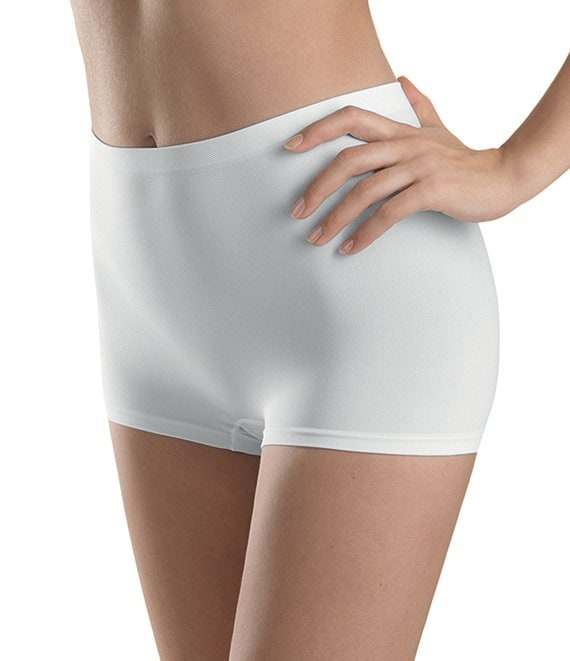 Color:Blanc - Image 1 - Touch Feeling Boyleg Panty