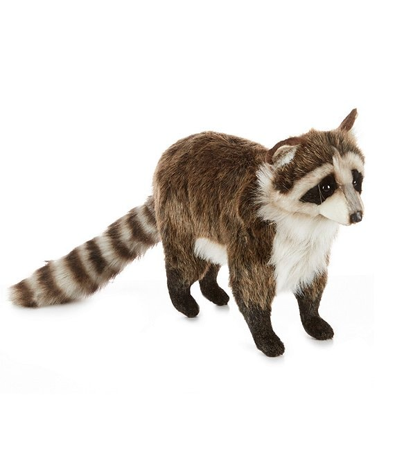 Hansa 12#double; Plush Raccoon