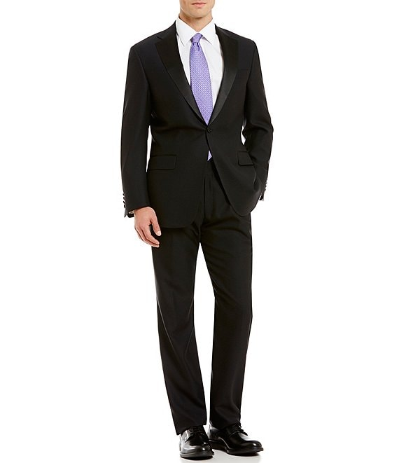 Color:Black - Image 1 - Chicago Classic Fit Tuxedo