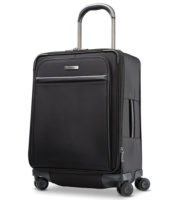 Color:Deep Black - Image 1 - Metropolitan 2 Domestic Carry On Expandable Spinner